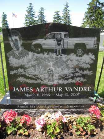 VANDRE, JAMES ARTHUR - Union County, Ohio   JAMES ARTHUR VANDRE - Ohio Gravestone Photos