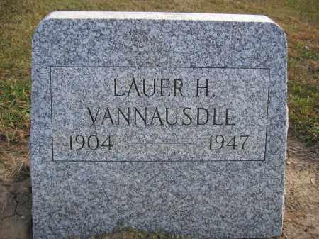 VANNAUSDLE, LAUER H. - Union County, Ohio | LAUER H. VANNAUSDLE - Ohio Gravestone Photos