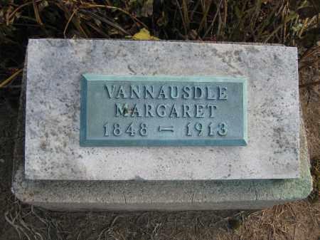 VANNAUSDLE, MARGARET - Union County, Ohio | MARGARET VANNAUSDLE - Ohio Gravestone Photos