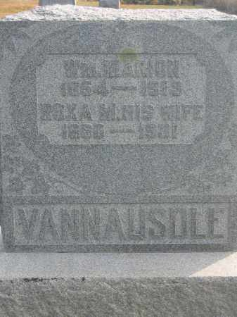 VANNAUSOLE, ROXA M. - Union County, Ohio | ROXA M. VANNAUSOLE - Ohio Gravestone Photos