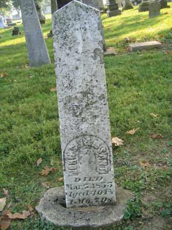 VANSANT, JOHN S. - Union County, Ohio | JOHN S. VANSANT - Ohio Gravestone Photos