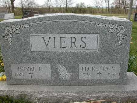 VIERS, HOMER R. - Union County, Ohio | HOMER R. VIERS - Ohio Gravestone Photos
