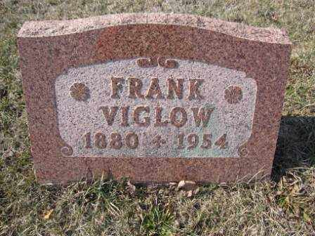 VIGLOW, FRANK - Union County, Ohio | FRANK VIGLOW - Ohio Gravestone Photos