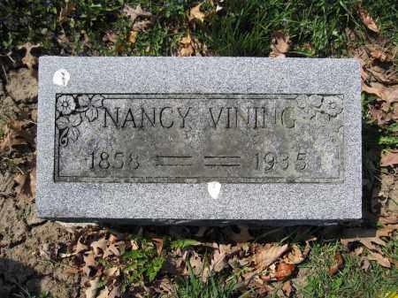 VINING, NANCY - Union County, Ohio   NANCY VINING - Ohio Gravestone Photos