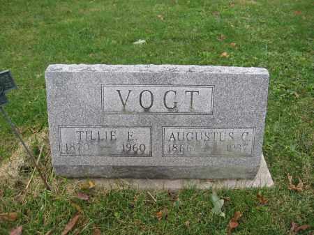 VOGT, AUGUSTUS C. - Union County, Ohio | AUGUSTUS C. VOGT - Ohio Gravestone Photos