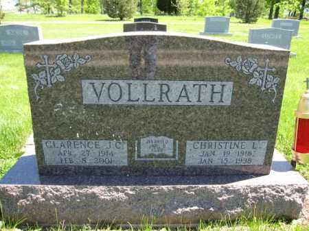 VOLLRATH, CLARENCE J.C. - Union County, Ohio | CLARENCE J.C. VOLLRATH - Ohio Gravestone Photos