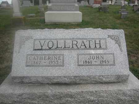 VOLLRATH, CATHERINE - Union County, Ohio   CATHERINE VOLLRATH - Ohio Gravestone Photos
