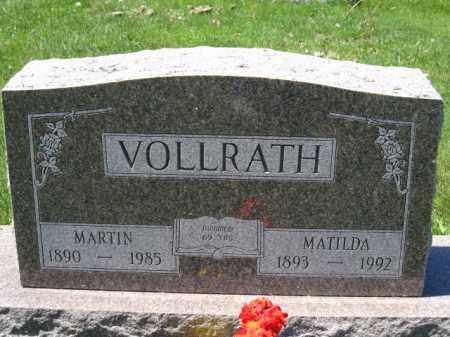 VOLLRATH, MATILDA - Union County, Ohio | MATILDA VOLLRATH - Ohio Gravestone Photos