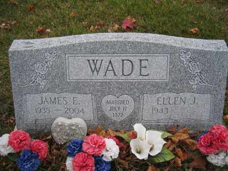 WADE, ELLEN J. - Union County, Ohio | ELLEN J. WADE - Ohio Gravestone Photos