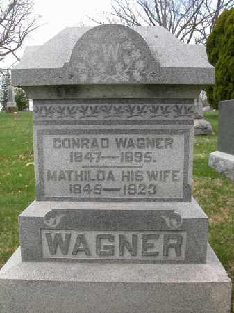 WAGNER, CONRAD - Union County, Ohio | CONRAD WAGNER - Ohio Gravestone Photos