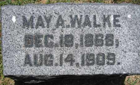 WALKE, MAY A. - Union County, Ohio   MAY A. WALKE - Ohio Gravestone Photos