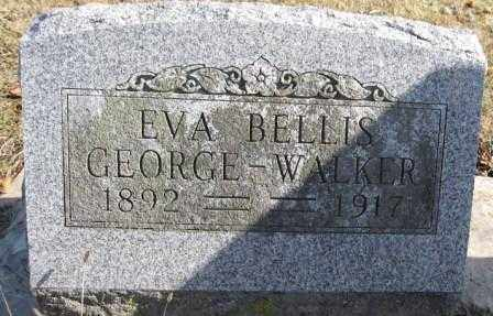 WALKER, EVA BELLIS GEORGE - Union County, Ohio | EVA BELLIS GEORGE WALKER - Ohio Gravestone Photos
