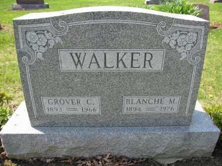 WALKER, BLANCHE M. SHIRK - Union County, Ohio | BLANCHE M. SHIRK WALKER - Ohio Gravestone Photos