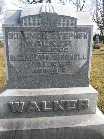 WALKER, SOLOMON STEPHEN - Union County, Ohio | SOLOMON STEPHEN WALKER - Ohio Gravestone Photos