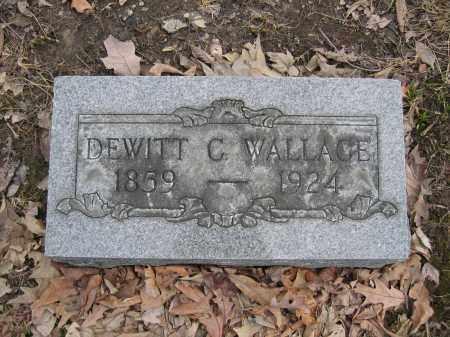 WALLACE, DEWITT C. - Union County, Ohio | DEWITT C. WALLACE - Ohio Gravestone Photos