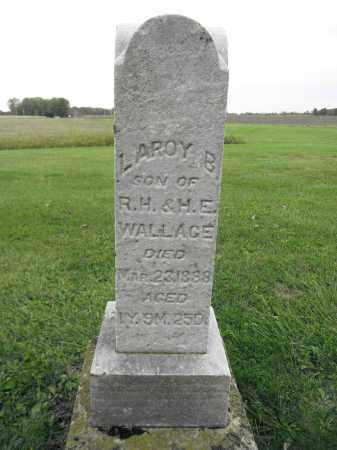 WALLACE, LAROY B. - Union County, Ohio | LAROY B. WALLACE - Ohio Gravestone Photos