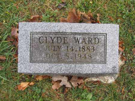 WARD, CLYDE - Union County, Ohio | CLYDE WARD - Ohio Gravestone Photos