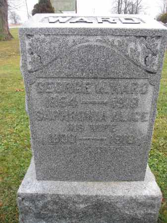 WARD, SAPHRONIA ALICE LARCOMB - Union County, Ohio | SAPHRONIA ALICE LARCOMB WARD - Ohio Gravestone Photos