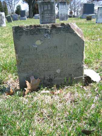 WARD, JOHN - Union County, Ohio | JOHN WARD - Ohio Gravestone Photos