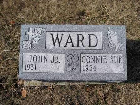 WARD, CONNIE SUE - Union County, Ohio | CONNIE SUE WARD - Ohio Gravestone Photos