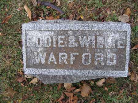 WARFORD, WILLIE - Union County, Ohio | WILLIE WARFORD - Ohio Gravestone Photos