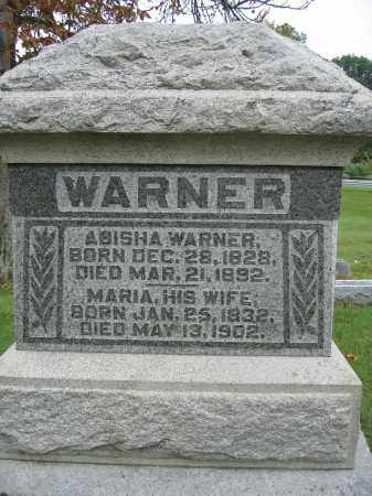 WARNER, MARIA - Union County, Ohio   MARIA WARNER - Ohio Gravestone Photos