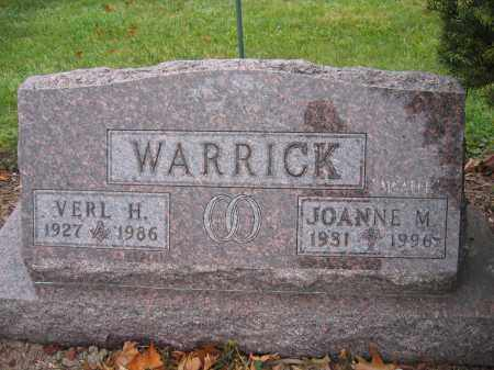 WARRICK, JOANNE M. - Union County, Ohio | JOANNE M. WARRICK - Ohio Gravestone Photos