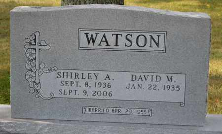 WATSON, SHIRLEY A. - Union County, Ohio | SHIRLEY A. WATSON - Ohio Gravestone Photos