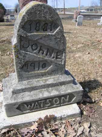 WATSON, JOHN E. - Union County, Ohio   JOHN E. WATSON - Ohio Gravestone Photos