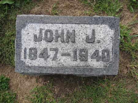 WATTS, JOHN J. - Union County, Ohio | JOHN J. WATTS - Ohio Gravestone Photos