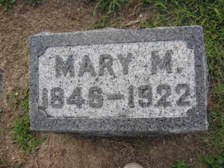 WATTS, MARY M. HARTSHON - Union County, Ohio | MARY M. HARTSHON WATTS - Ohio Gravestone Photos