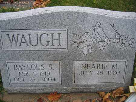 WAUGH, NEARIE M. - Union County, Ohio | NEARIE M. WAUGH - Ohio Gravestone Photos