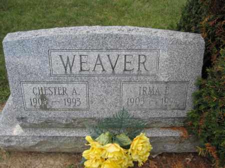 WEAVER, CHESTER A. - Union County, Ohio   CHESTER A. WEAVER - Ohio Gravestone Photos