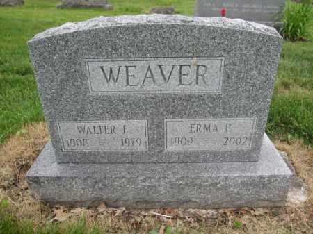 WEAVER, ERMA P. - Union County, Ohio | ERMA P. WEAVER - Ohio Gravestone Photos