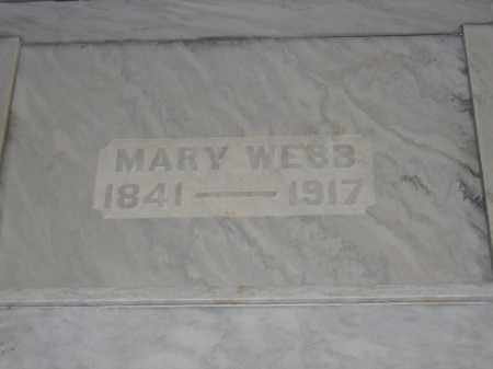 WEBB, MARY - Union County, Ohio   MARY WEBB - Ohio Gravestone Photos