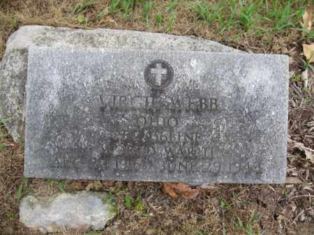 WEBB, VIRGIL - Union County, Ohio | VIRGIL WEBB - Ohio Gravestone Photos