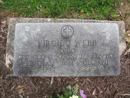 WEBB, VIRGIL J. - Union County, Ohio   VIRGIL J. WEBB - Ohio Gravestone Photos