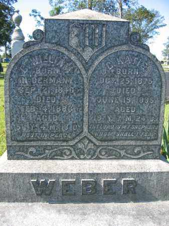 WEBER, C. WILLIAM - Union County, Ohio | C. WILLIAM WEBER - Ohio Gravestone Photos
