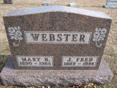 WEBSTER, J. FRED - Union County, Ohio | J. FRED WEBSTER - Ohio Gravestone Photos