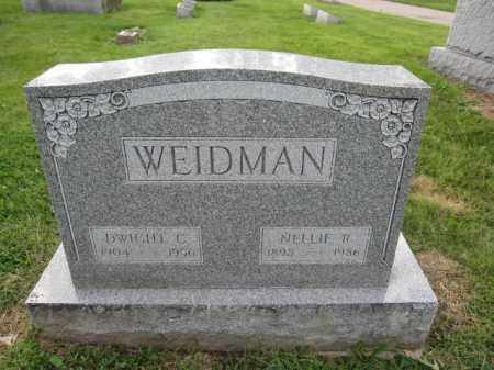 WEIDMAN, NELLIE R. - Union County, Ohio | NELLIE R. WEIDMAN - Ohio Gravestone Photos