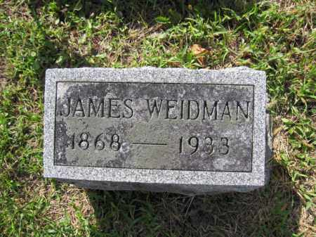 WEIDMAN, JAMES - Union County, Ohio | JAMES WEIDMAN - Ohio Gravestone Photos