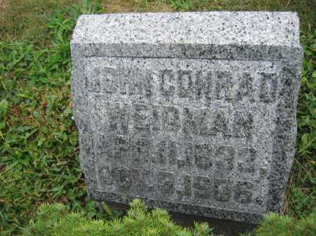 WEIDMAN, JOHN CONRAD - Union County, Ohio   JOHN CONRAD WEIDMAN - Ohio Gravestone Photos
