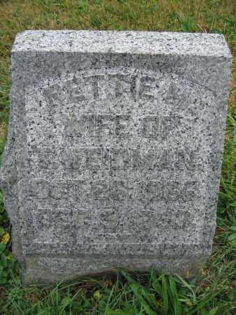 WEIDMAN, RHETTA RICHEY - Union County, Ohio   RHETTA RICHEY WEIDMAN - Ohio Gravestone Photos