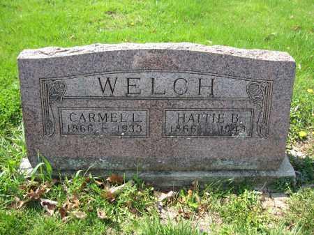 WELCH, HATTIE B. CRAIN - Union County, Ohio | HATTIE B. CRAIN WELCH - Ohio Gravestone Photos