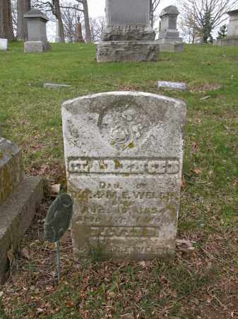 WELCH, CLARENCE D. - Union County, Ohio   CLARENCE D. WELCH - Ohio Gravestone Photos
