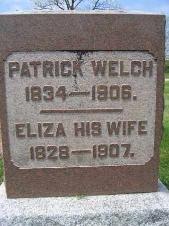 WELCH, ELIZA - Union County, Ohio | ELIZA WELCH - Ohio Gravestone Photos