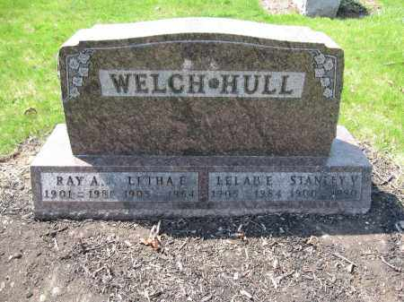 WELCH, RAY A. - Union County, Ohio | RAY A. WELCH - Ohio Gravestone Photos