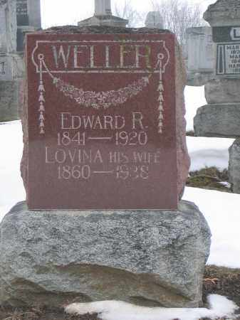 WELLER, EDWARD R. - Union County, Ohio | EDWARD R. WELLER - Ohio Gravestone Photos