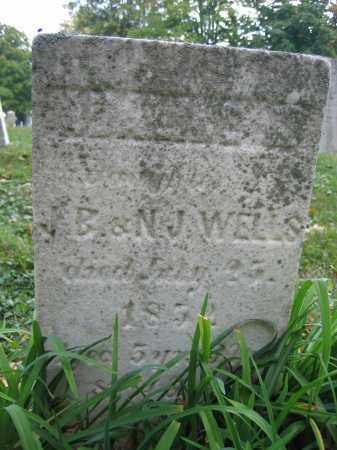 WELLS, ADALINE M. - Union County, Ohio   ADALINE M. WELLS - Ohio Gravestone Photos