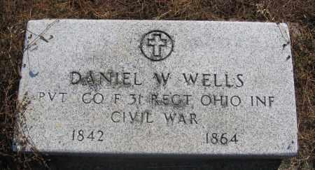 WELLS, DANIEL - Union County, Ohio   DANIEL WELLS - Ohio Gravestone Photos